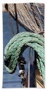 Ropes And Rigging Bath Towel