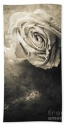 Rose From Another Day Bath Towel
