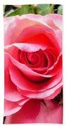 Rose Roses Bath Towel