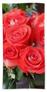 Roses For Mother Bath Towel