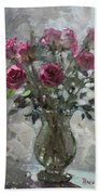 Roses For Viola Bath Towel