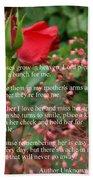 Roses In Heaven Bath Towel