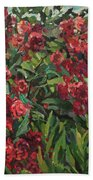 Roses In The Mountains Bath Towel