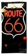 Route 66 2 Bath Towel