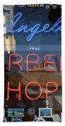 Route 66 - Angel's Barber Shop Bath Towel
