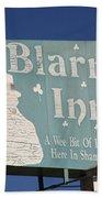 Route 66 - Blarney Inn Bath Towel