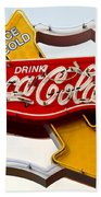 Route 66 Coca Cola Bath Towel