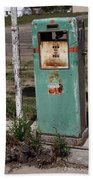 Route 66 Gas Pump - Adrian Texas Bath Towel