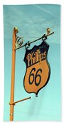 Route 66 - Mclean Texas Bath Towel