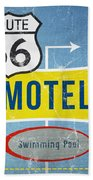 Route 66 Motel Bath Towel