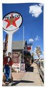 Route 66 - Seligman Arizona Bath Towel
