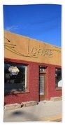 Route 66 - Uranium Cafe Bath Towel