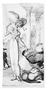 Rowlandson: Cartoon, 1810 Bath Towel