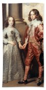 Royal Couple, 1641 Bath Towel