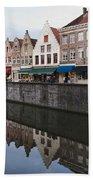 Rozenhoedkaai Bruges Bath Towel