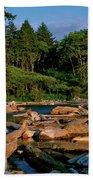 Ruby Bay North Pacific Ocean Bath Towel