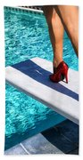Ruby Heels Ready For Take-off Palm Springs Bath Towel