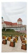 Ruegen Island Beach - Germany Bath Towel