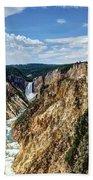 Rugged Lower Yellowstone Bath Towel