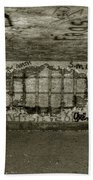 Ruined Bunker Bath Towel