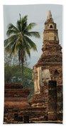 Ruins At Sukhotai Bath Towel