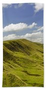 Rushup Edge From Mam Tor Bath Towel
