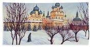 Russian Winter Hand Towel