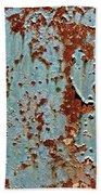 Rust And Paint Bath Towel