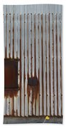 Rust And Window 2 Bath Towel