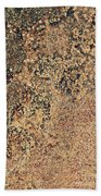 Rusted Metal Bath Towel