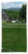 Rustic Vermont Barn Bath Towel