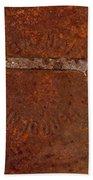 Rusting Wrench   #0726 Bath Towel