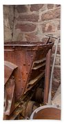 Rusty Ruins In Jerome Arizona Bath Towel
