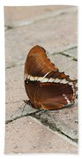 Rusty Tipped Page Butterfly Bath Towel