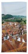 Rye Town Roofs Bath Towel