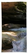 Sabbaday Falls Gorge Bath Towel