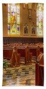 Sacred Space - Our Lady Of Mt. Carmel Church Bath Towel