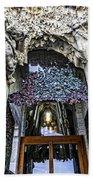 Sagrada Familia Doors - Barcelona - Spain Bath Towel