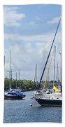 Sailboat Series 05 Bath Towel