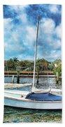 Sailboat Series 01 Bath Towel