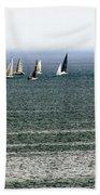 Sailing On Lake Erie Bath Towel