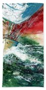 Sailing On The Breeze Bath Towel