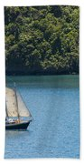 Sails In The Wind Bath Towel