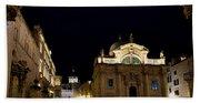 Saint Blaise Church - Dubrovnik Bath Towel