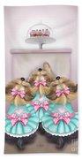 Saint Cupcakes Bath Towel