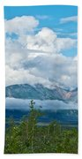 Saint Elias Mountains In Kluane National Park-yk  Bath Towel