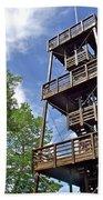 Saint Francois Observation Platform On Ile D'orleans-qc Bath Towel