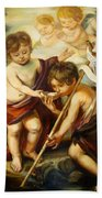 Saint John Baptist Bath Towel