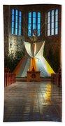 Saint Josephs Apache Mission Bath Towel