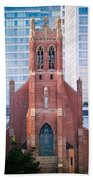 Saint Patrick's Church San Francisco Bath Towel